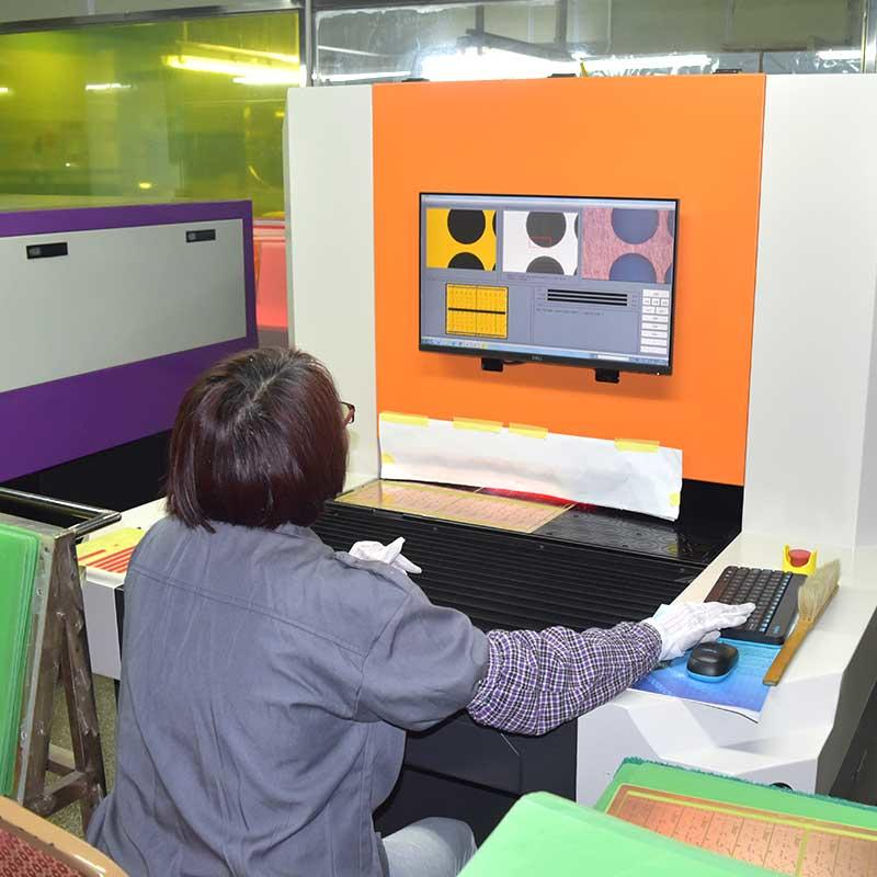inspection aoi automated optical inspection fast inspection for testing of electronics PCBs ChiKin