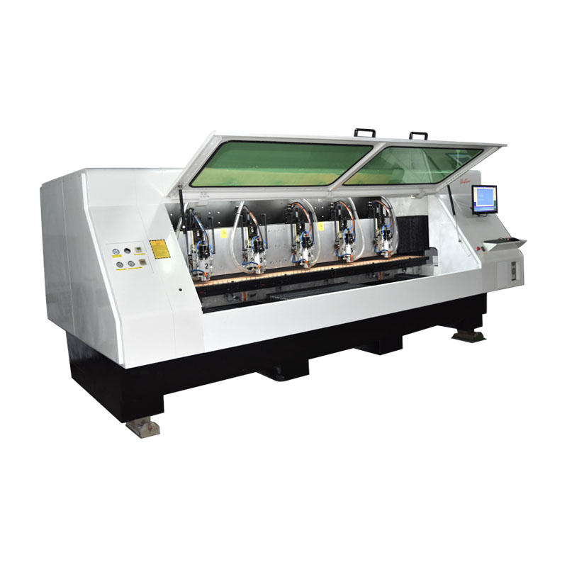 6 Spindle Drilling And Router Machine