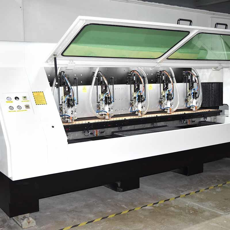 high speed aluminium drilling machine high precision