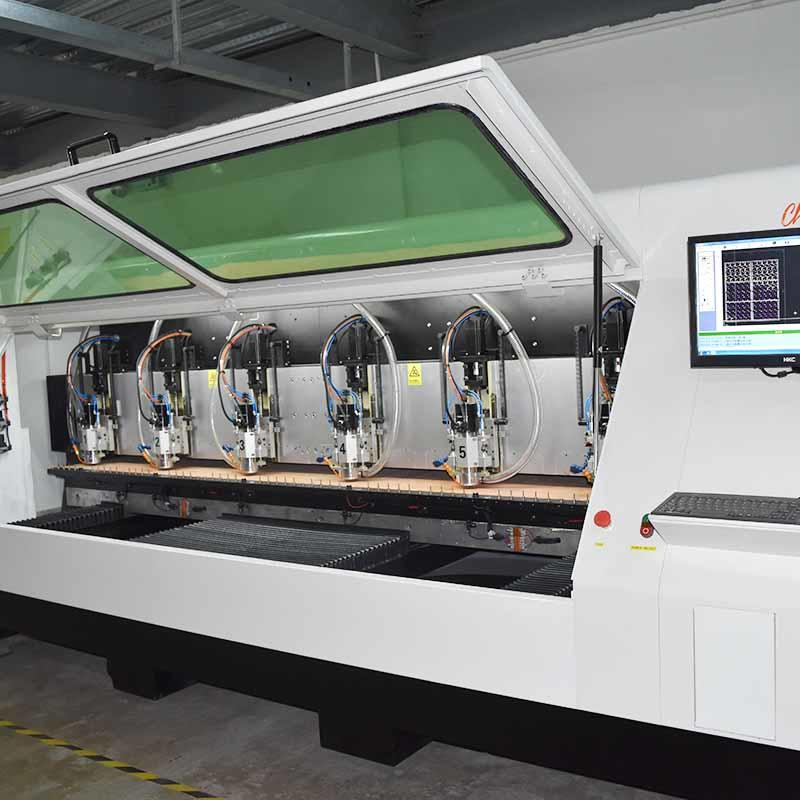 ChiKin high quality pcb machine spindle over-heat protection for processing various materials