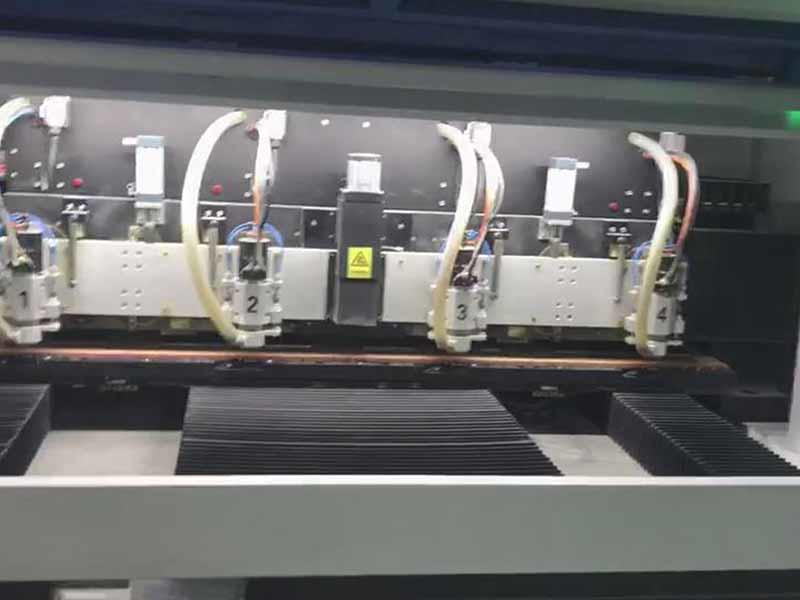 4 spindle routing machine