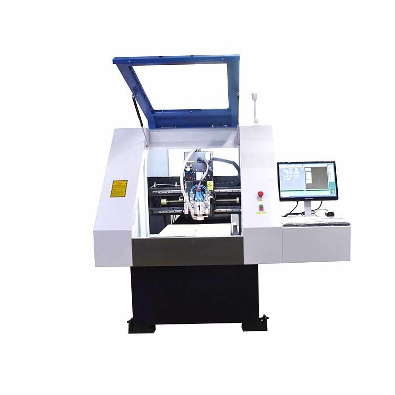 ChiKin machine cnc router for pcb spindle over-heat protection pcb board making