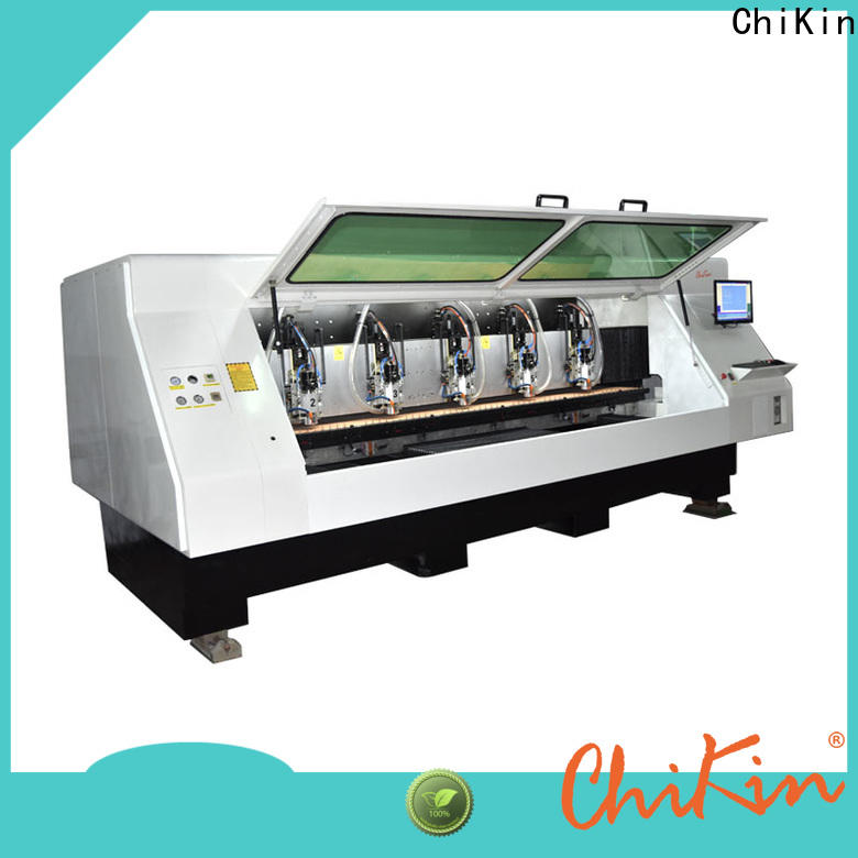 ChiKin control pcb routing machine spindle over-heat protection pcb manufacturing companies