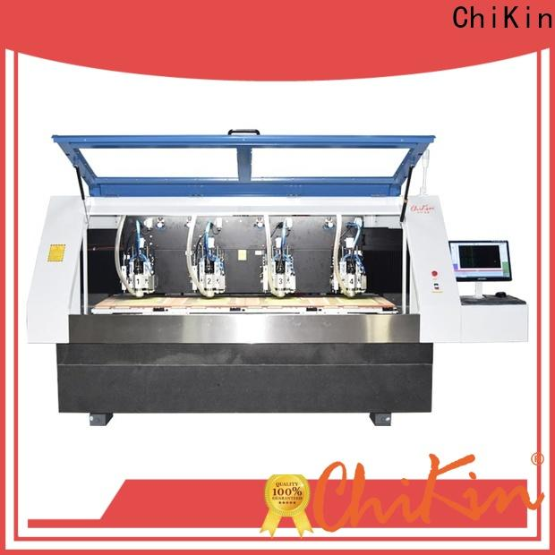 ChiKin high speed cnc router for pcb high precision for processing various materials