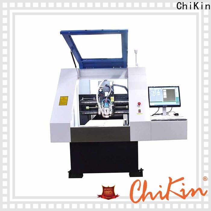 Perfect pcb manufacturing machine control high precision