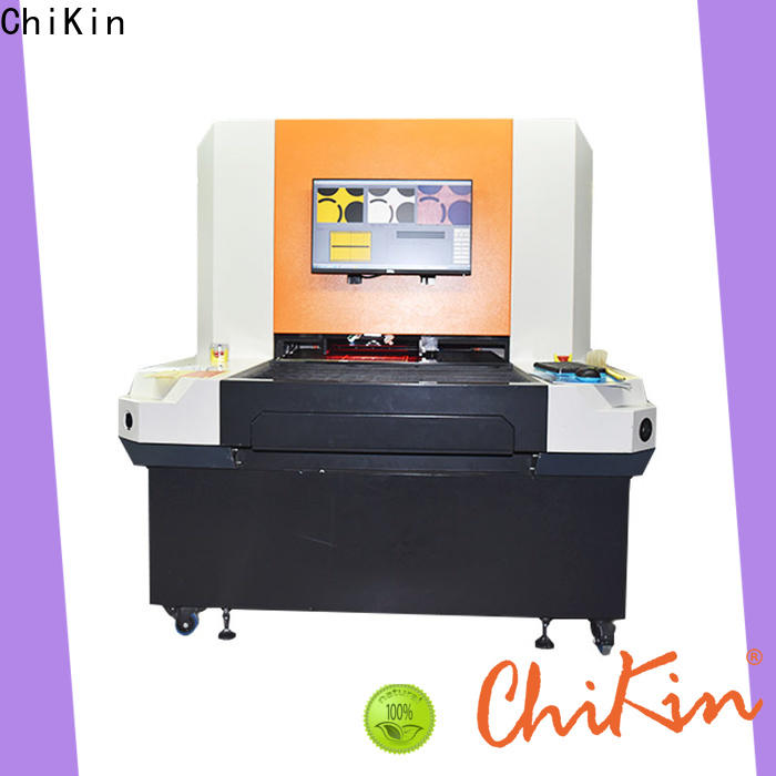 ChiKin single pcb AOI machine accurate inspection for testing of electronics PCBs