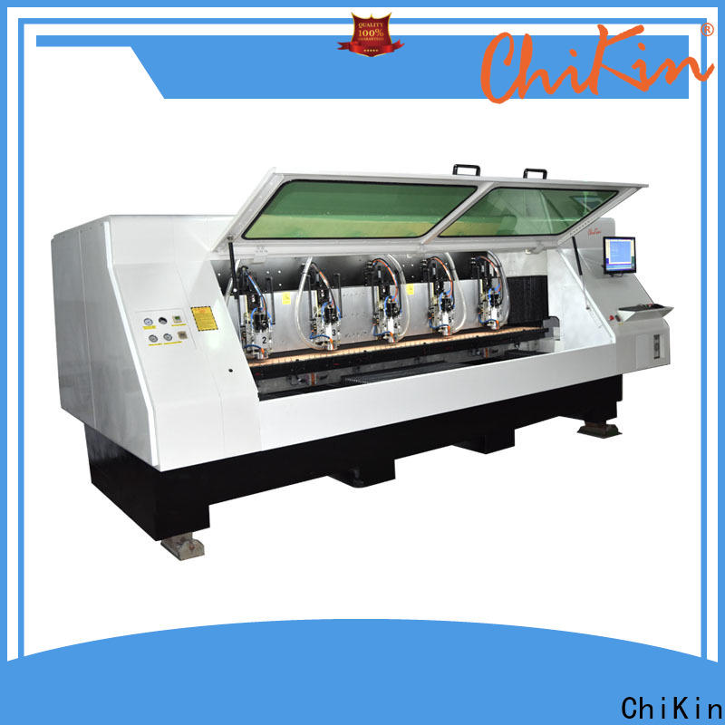 ChiKin drilling cnc carving high precision pcb manufacturing companies