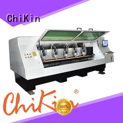 high speed pcb milling machine spindle over-heat protection for processing various materials