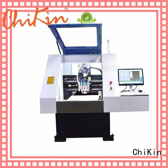 ChiKin high speed cnc pcb milling machine machine for industry operation