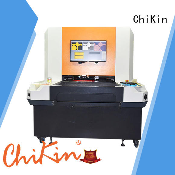 ChiKin double aoi system accurate inspection for testing of electronics PCBs