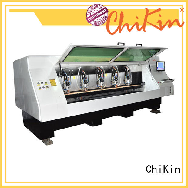 ChiKin Perfect pcb router machine spindle over-heat protection for industry operation
