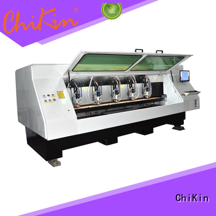 ChiKin router cnc router pcb spindle over-heat protection pcb board making