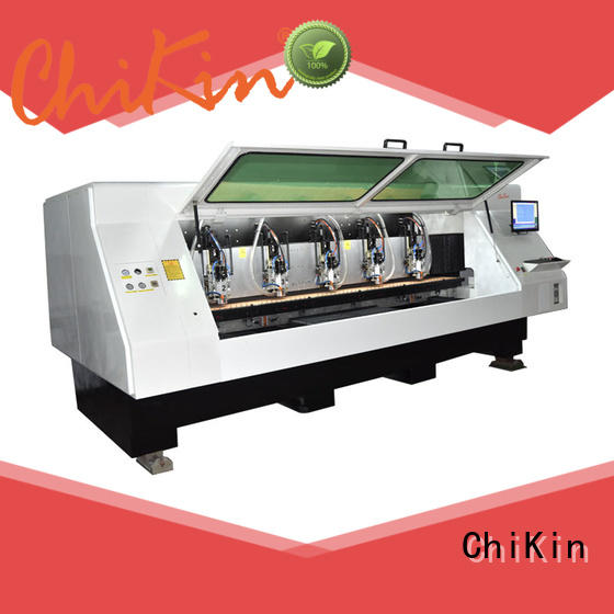 ChiKin Perfect pcb etching machine spindle over-heat protection for processing various materials