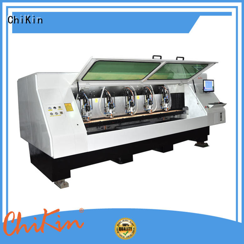 ChiKin spindle cnc router for pcb high precision pcb board making