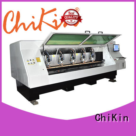 ChiKin control pcb milling machine spindle over-heat protection pcb board making