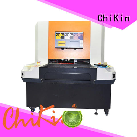pcb AOI machine spindle for fast and accurate inspection ChiKin