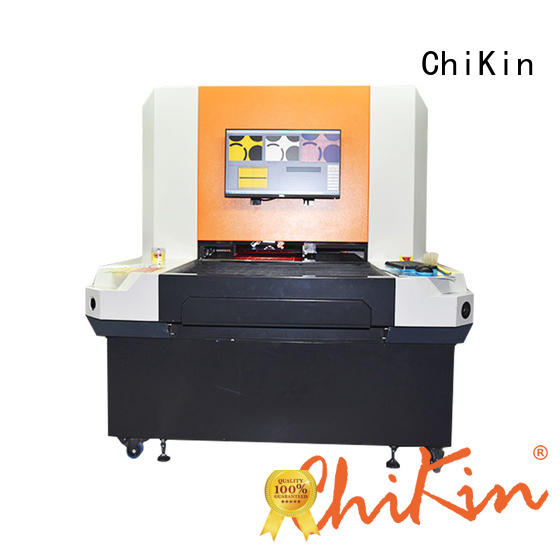 ChiKin double aoi machine for pcb accurate inspection for testing of electronics PCBs