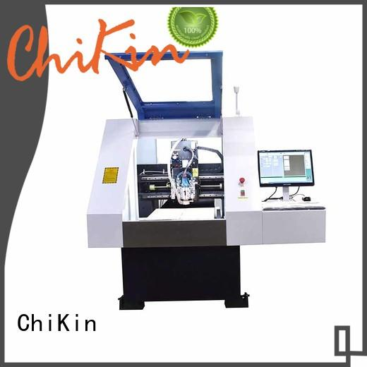ChiKin Perfect pcb milling spindle over-heat protection for processing various materials