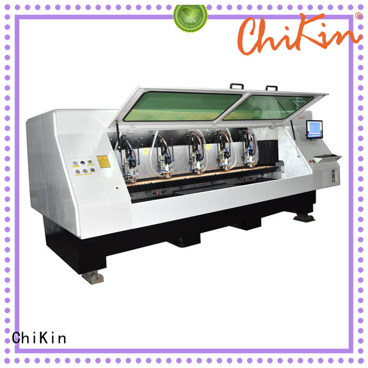 ChiKin atc pcb routing machine spindle over-heat protection pcb board making