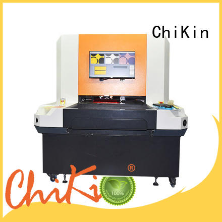 single aoi machine fast inspection for testing of electronics PCBs ChiKin