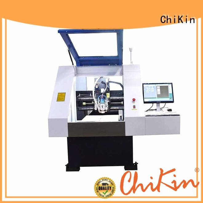 ChiKin control aluminium drilling machine spindle over-heat protection for industry operation