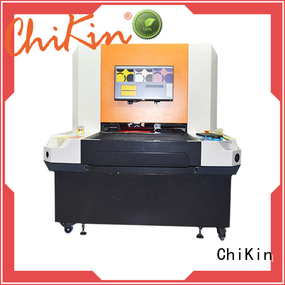 ChiKin spindle aoi machine for pcb accurate inspection for testing of electronics PCBs