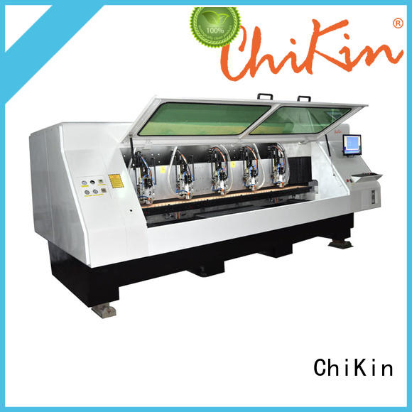 ChiKin high quality aluminium drilling machine high precision for processing various materials