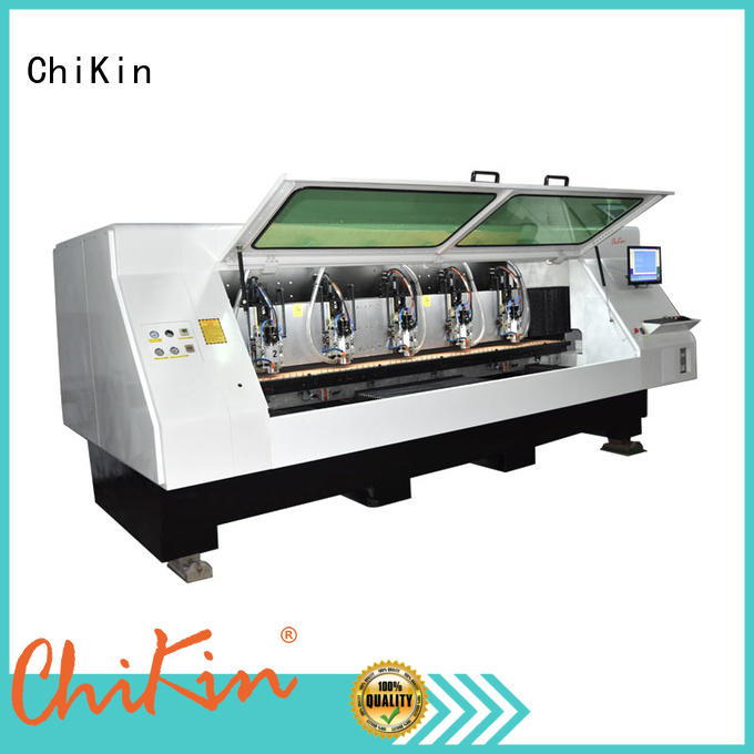 ChiKin high quality pcb manufacturing machine spindle over-heat protection