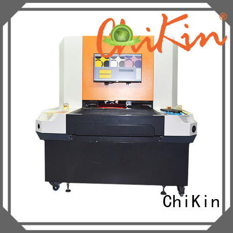 aoi automated optical inspection spindle for testing of electronics PCBs ChiKin