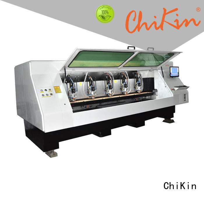 ChiKin drilling cnc router for pcb spindle over-heat protection for industry operation