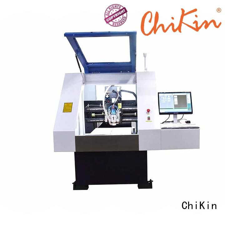 ChiKin spindle cnc pcb milling machine spindle over-heat protection for processing various materials
