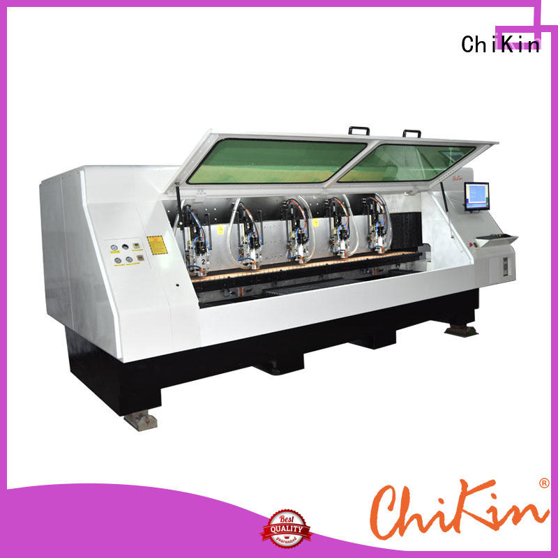 ChiKin Perfect pcb milling machine spindle over-heat protection for industry operation