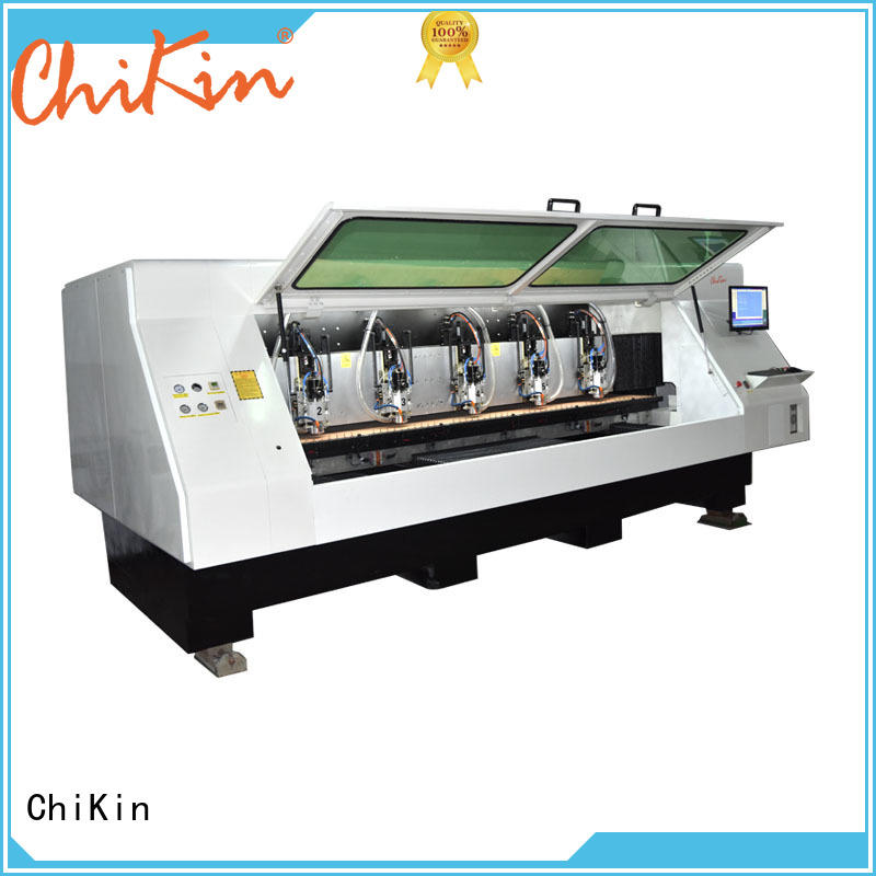 ChiKin control pcb router spindle over-heat protection pcb manufacturing companies