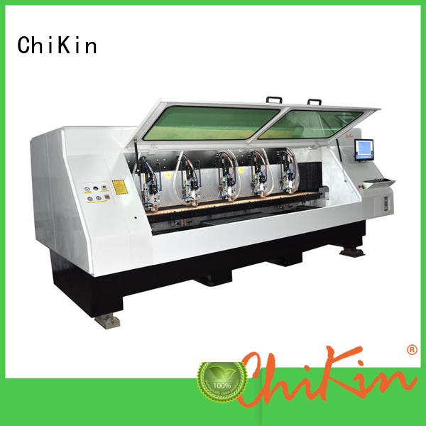 ChiKin high speed pcb etching machine spindle over-heat protection for industry operation