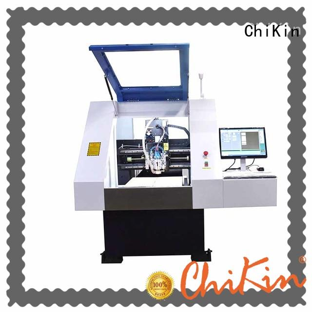 high speed pcb routing machine single spindle over-heat protection pcb board making