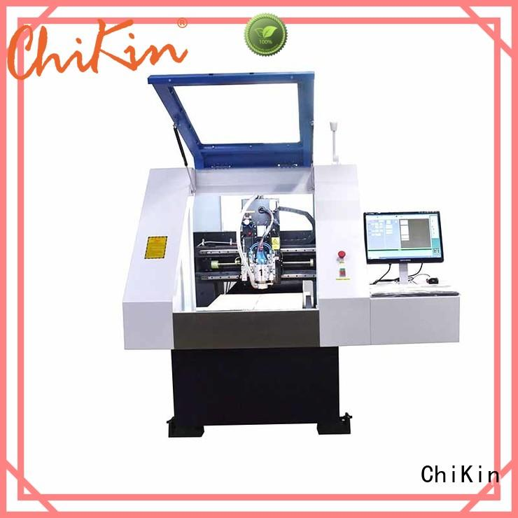 pcb aluminium drilling machine high precision for industry operation