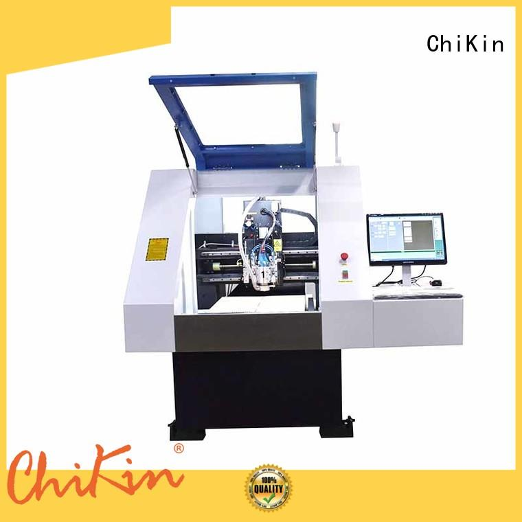 Perfect pcb milling and drilling machine spindle over-heat protection ChiKin
