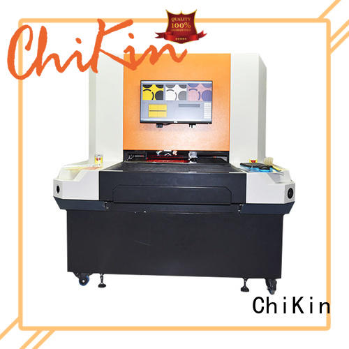 ChiKin spindle aoi system fast inspection for testing of electronics PCBs