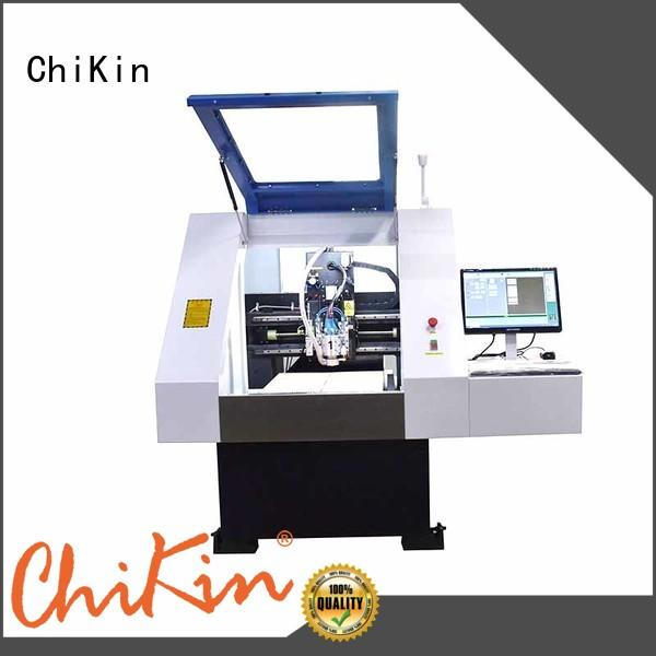 ChiKin high speed pcb cnc router spindle over-heat protection for processing various materials