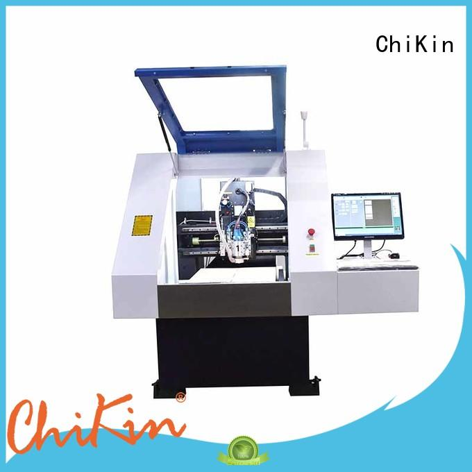 ChiKin routing pcb router machine spindle over-heat protection