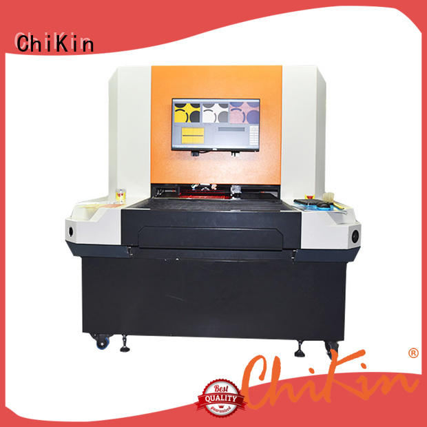 ChiKin single aoi machine for pcb fast inspection for testing of electronics PCBs