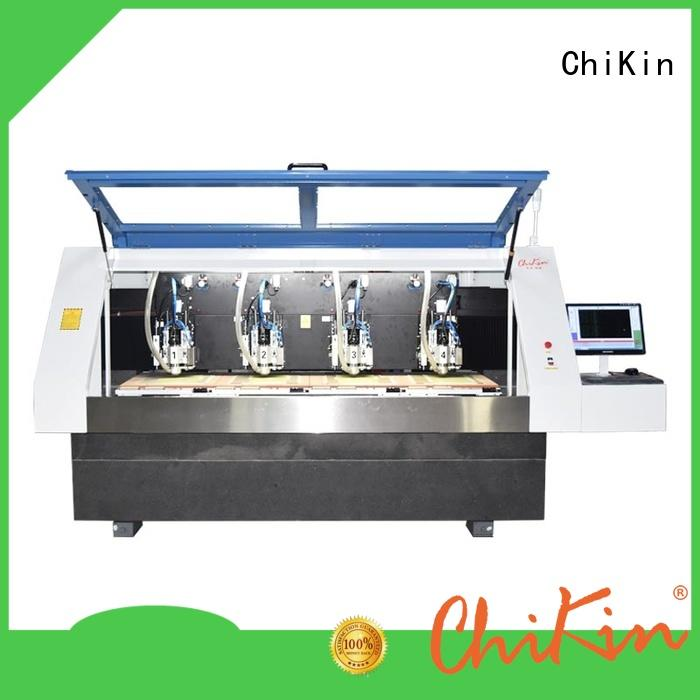 ChiKin high speed cnc carving spindle over-heat protection for industry operation