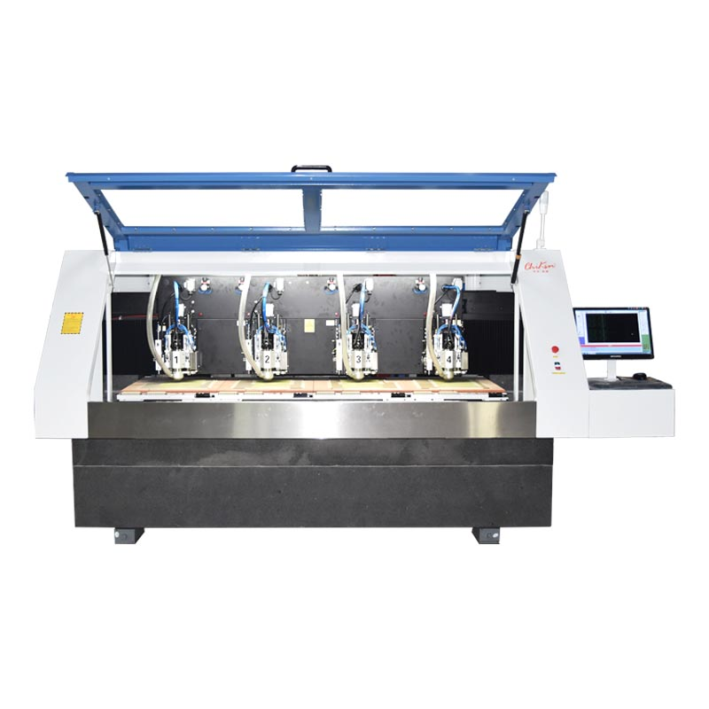 ChiKin high speed pcb router machine spindle over-heat protection-1