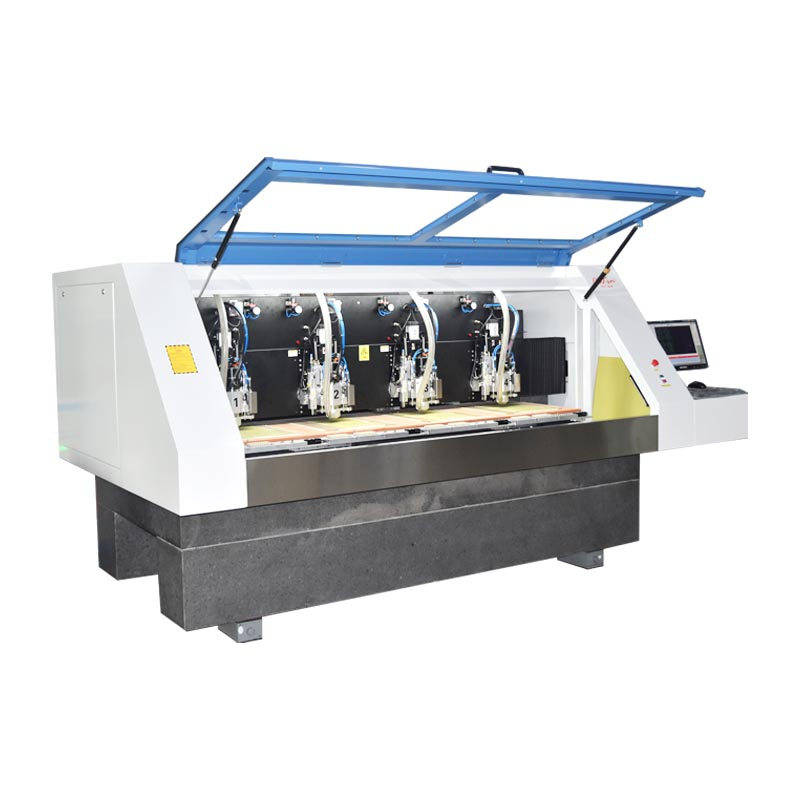 ChiKin high speed pcb router machine spindle over-heat protection-2