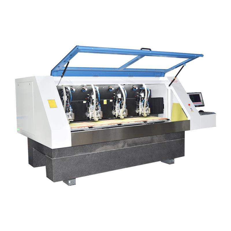 Perfect pcb milling machine control high precision for industry operation