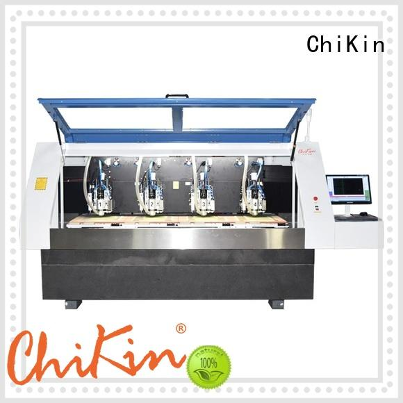 ChiKin ChiKin professional pcb router machine spindle over-heat protection for processing various materials