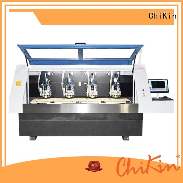 ChiKin single aluminium drilling machine spindle over-heat protection for processing various materials