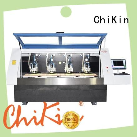ChiKin Perfect pcb milling machine spindle over-heat protection