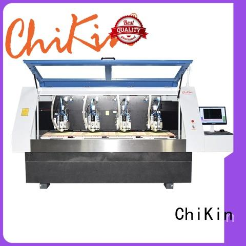 ChiKin single pcb machine spindle over-heat protection pcb manufacturing companies