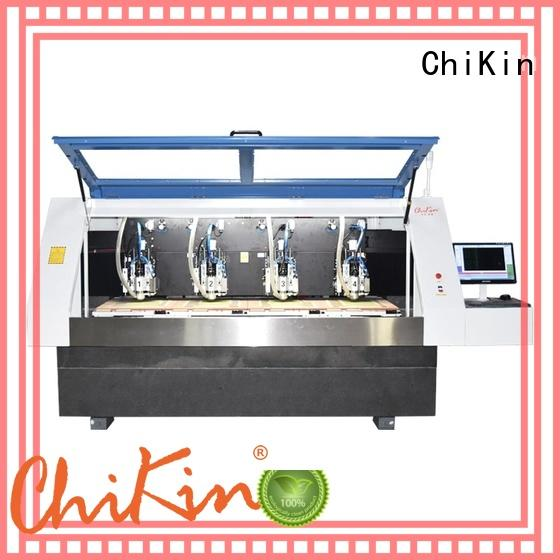 high speed pcb router machine spindle over-heat protection for industry operation